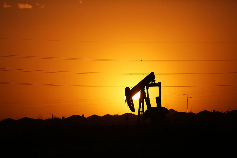 Oil prices staged a rally this morning, but that fell apart this afternoon