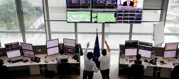 European stocks open higher despite market chaos in China