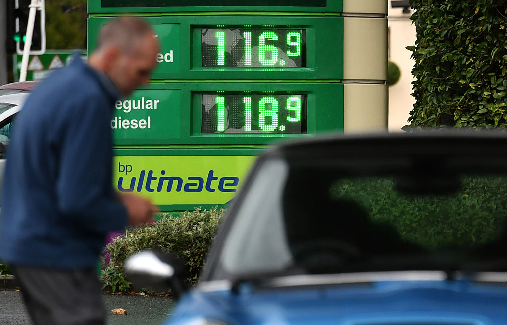 Falling UK fuel pump prices put downward pressure on the inflation rate in April