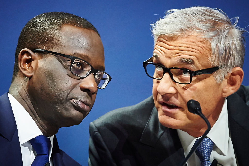 Credit Suisse saw profits rise 69 per cent in 2019 just days after chief executive Tidjane Thiam was ousted in the wake of a lurid spying scandal that erupted in September.