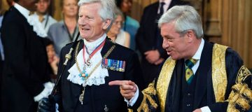 David Leakey (left) has raised bullying concerns about former speaker John Bercow (right)