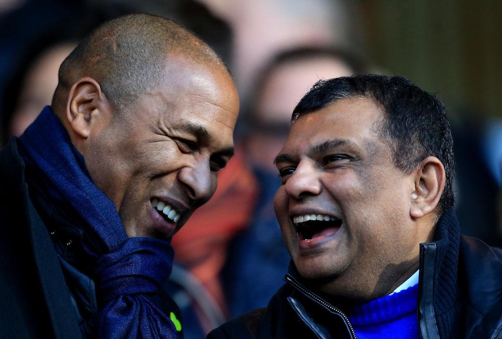 Les Ferdinand and Tony Fernandes