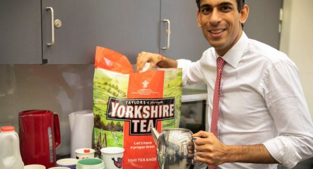 Rishi Sunak Yorkshire Tea