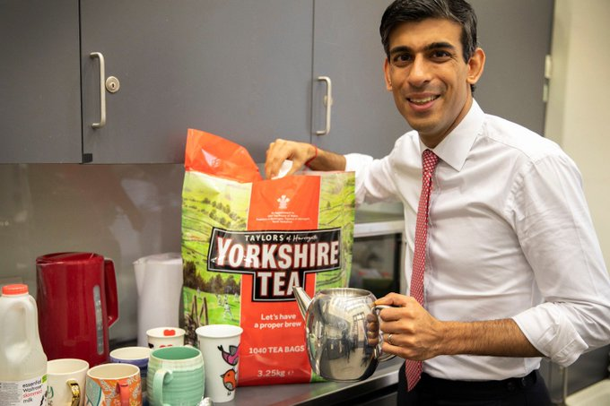 Keep calm and drink Yorkshire Tea until the Twitter storm blows over
