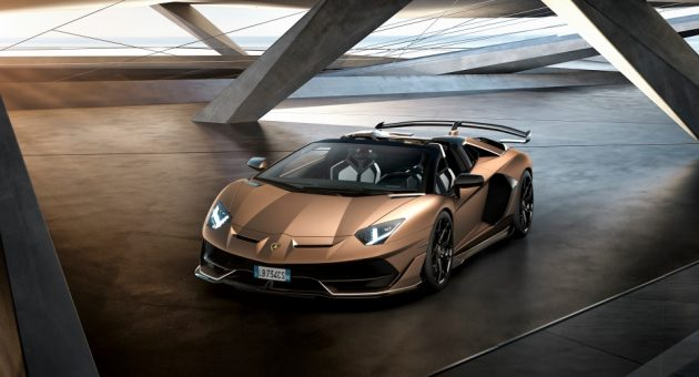 The Lamborghini Aventador SVJ Roadster is a supercar turned up to 11