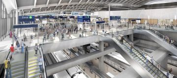 HS2 has unveiled its new designs for its planned passenger super-hub at Old Oak Common in west London, which will serve 250,000 passengers per day.