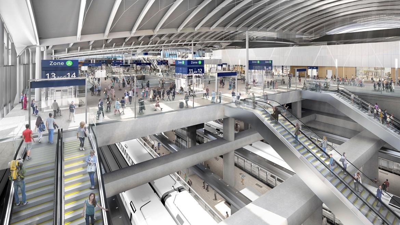 HS2 reveals Old Oak Common super-hub station design