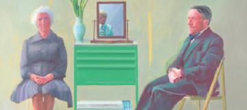 David Hockney's My Parents and Myself