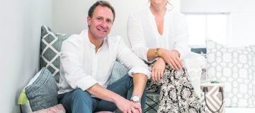 Barney and Tasha Green of sustainable textiles company Weaver Green