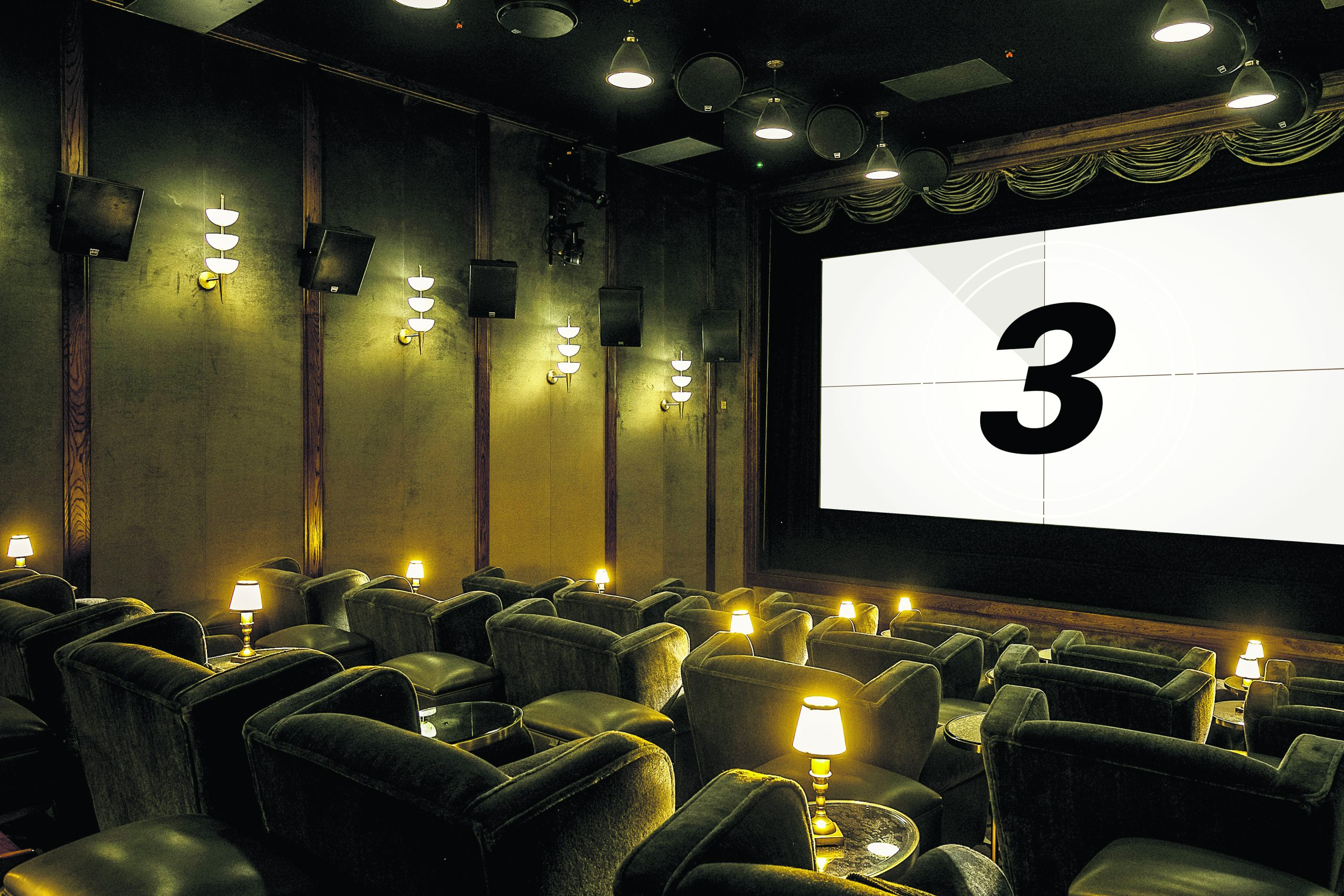 The cinema at White City House