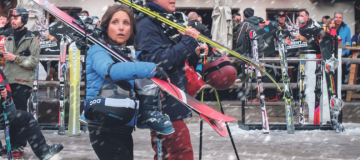 Will Ferrell and Julia Louis-Dreyfus in Downhill