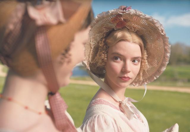 Anya Taylor-Joy in Emma film