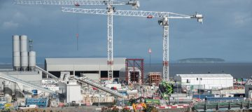 Hundreds of workers at EDF's Hinkley Point C nuclear plant are being furloughed, the Telegraph reported, after the firm decided to cut the number of workers on site by more than half.