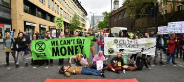 Extinction Rebellion Hold Final March Ahead Of Leaving London