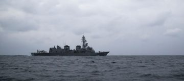 Royal Navy shadows Russian warships in the Channel and North Sea