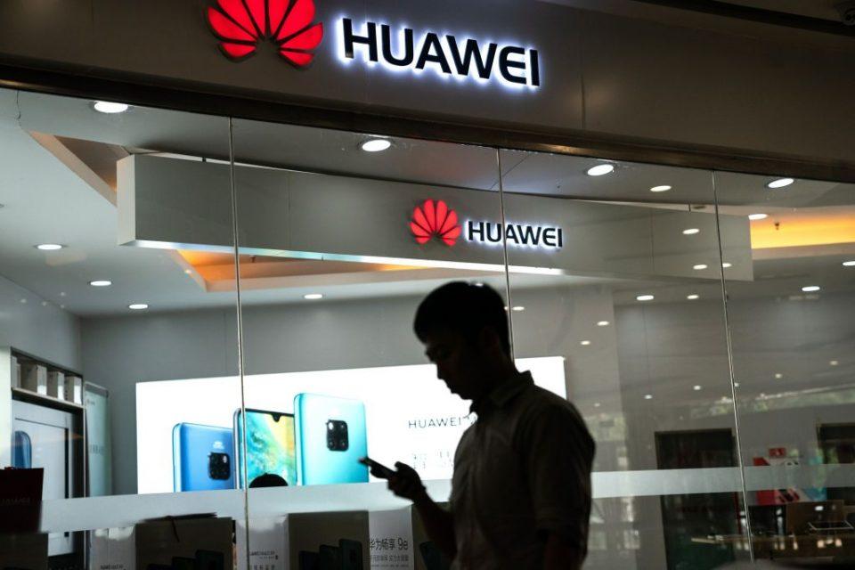 CHINA-US-TRADE-DIPLOMACY-TELECOM-HUAWEI