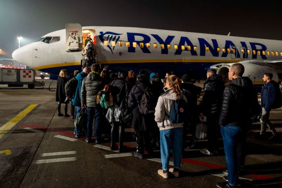 Ryanair has announced more cuts to its flight schedules to and from Italy today after the Italian government put the  north of the country into lockdown yesterday.