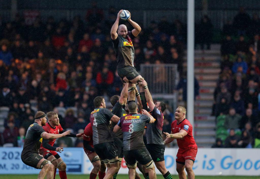 Harlequins v Saracens - Gallagher Premiership Rugby