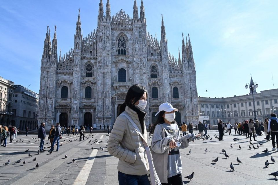 Milan is one of the cities caught up in the Italy lockdown to prevent the spread of the coronavirus. Around 16m Italians are in effective quarantine as a result