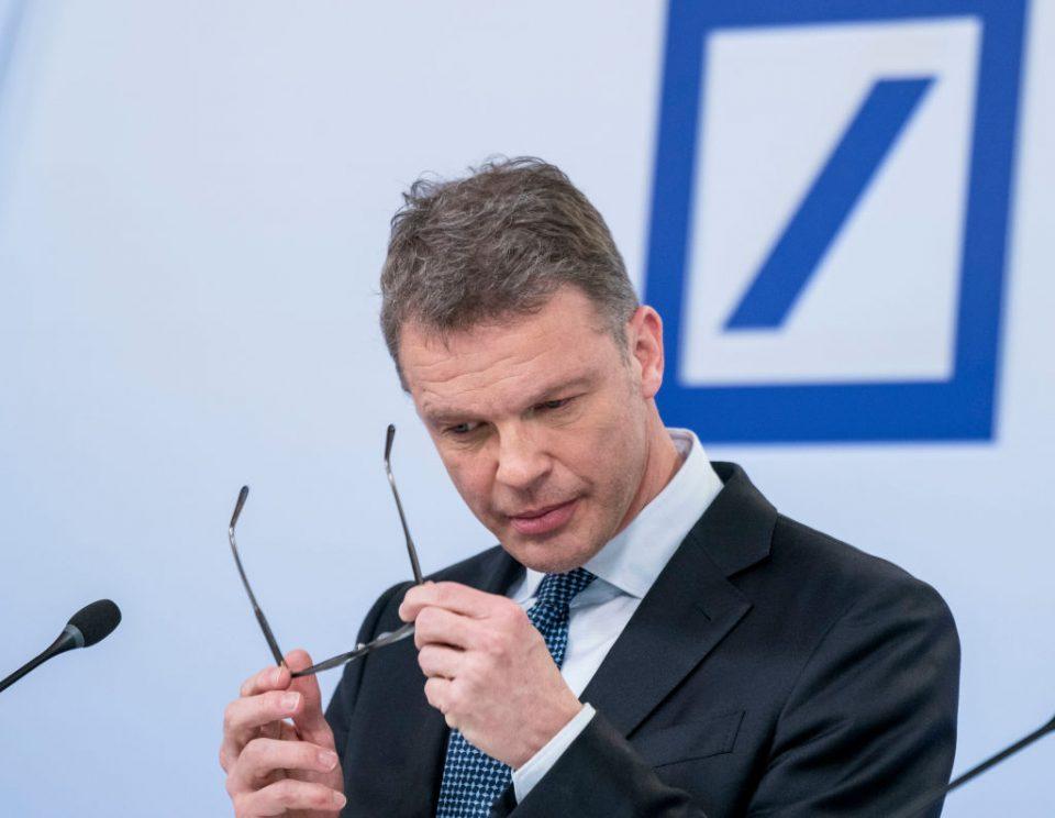 Deutsche Bank coronavirus