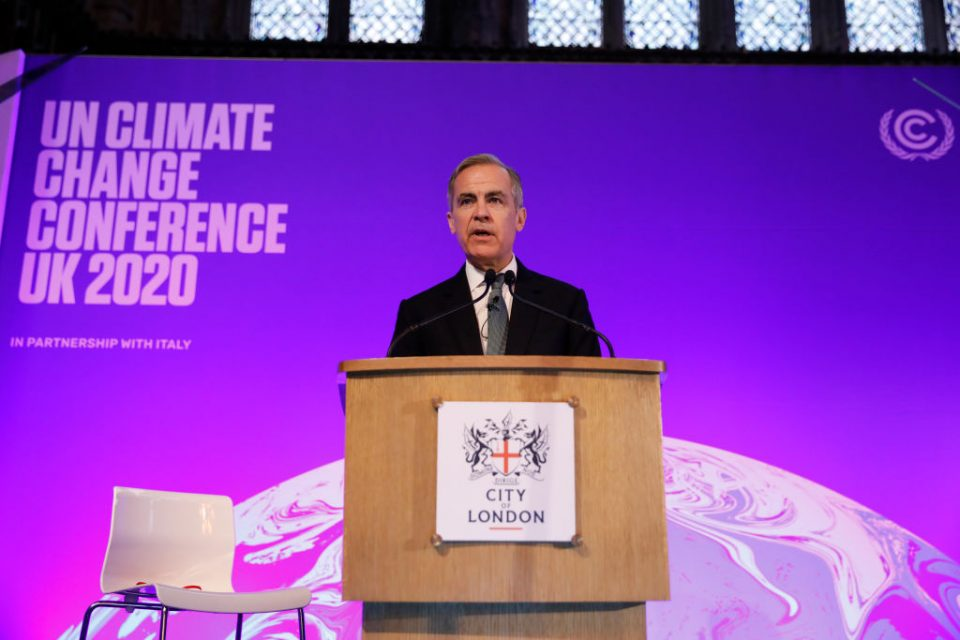 Bank of England could penalise banks for polluting assets