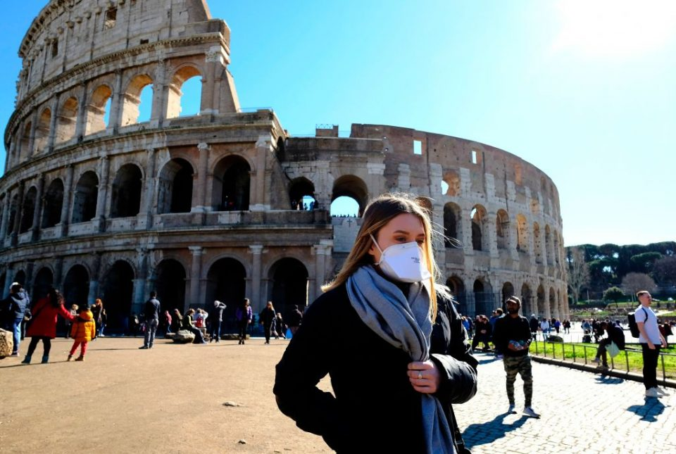 A sunny day in Rome – but the outlook for Italy remains clouded.