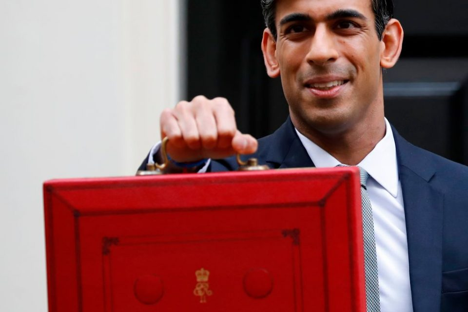 Rishi Sunak promises £30bn to help tackle the coronavirus in his Budget