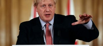 Boris Johnson still 'in charge of government' from his hospital bed