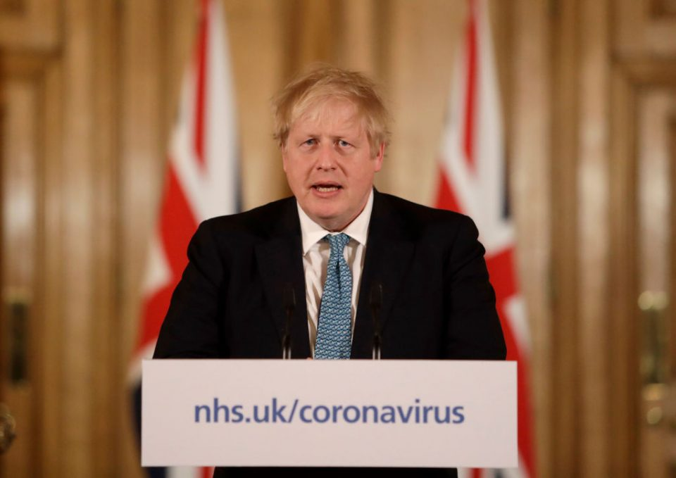 Prime Minister Boris Johnson's approval rating for his handling of the coronavirus crisis has plunged following the revelations about his chief adviser Dominic Cummings, a pol published today found.