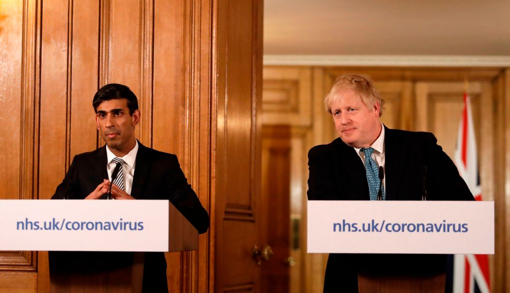 Wage bailout: Boris Johnson has formally asked pubs and restaurants to close for the foreseeable future