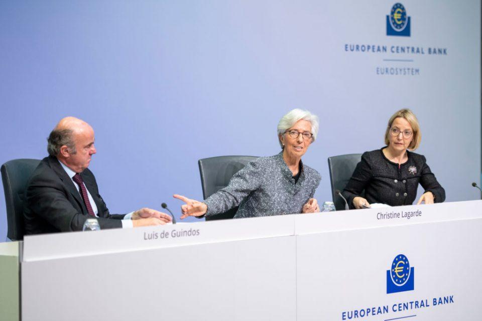 ECB ditches rules limiting €750bn coronavirus bond purchases