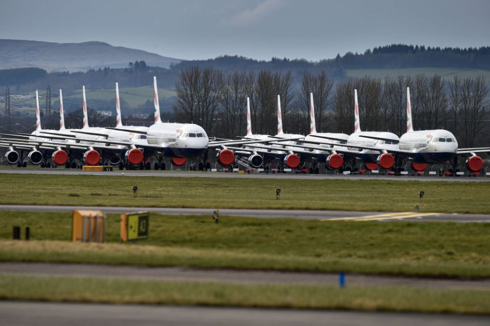 The coronavirus pandemic has effectively brought global air travel to a standstill, leaving thousands of Brits wondering what to do about future flights.
