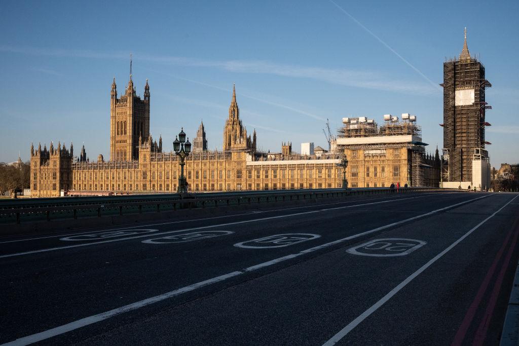 UK On Lockdown Due To Coronavirus Pandemic