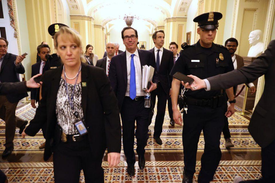 FTSE 100 rises after US Congress agrees $2 trillion coronavirus stimulus