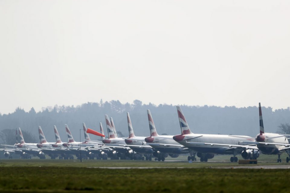 """A group of 38 MPs has written to chancellor Rishi Sunak asking him to """"urgently review"""" the support that the UK's airlines and airports have asked for in a bid to survive the coronavirus pandemic."""
