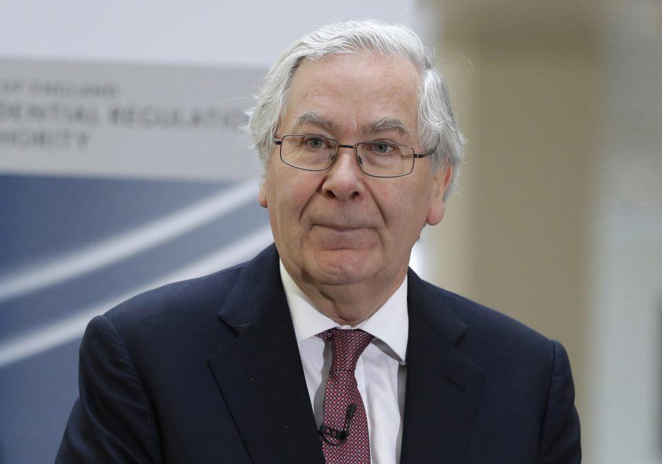 Former BoE governor Mervyn King: Coronavirus crash worse than financial crisis
