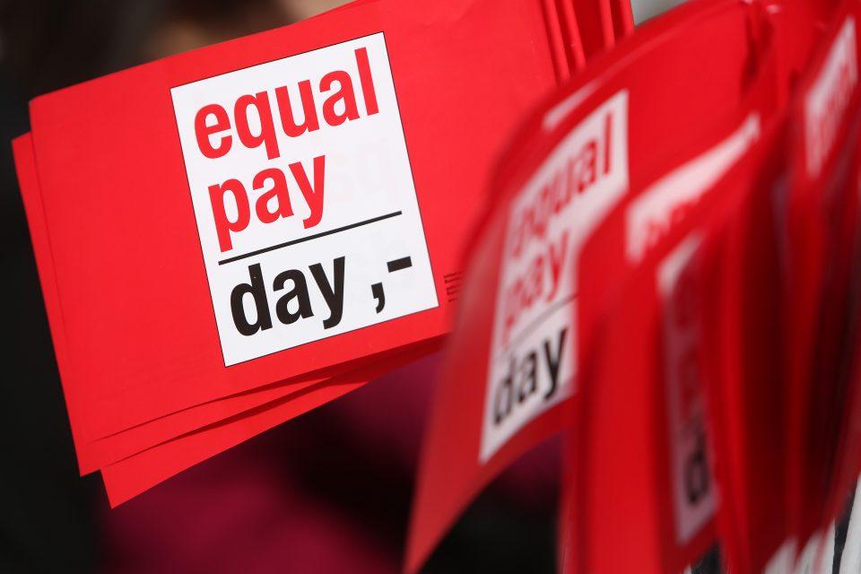 Britain has suspended gender pay gap reporting this year