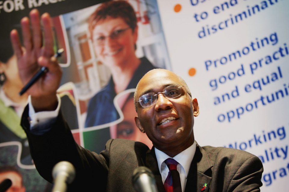 Trevor Phillips Announces The Final Report On Alleged Police Racism