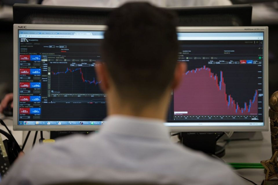 FTSE 100 falls as coronavirus stimulus rally runs out of steam