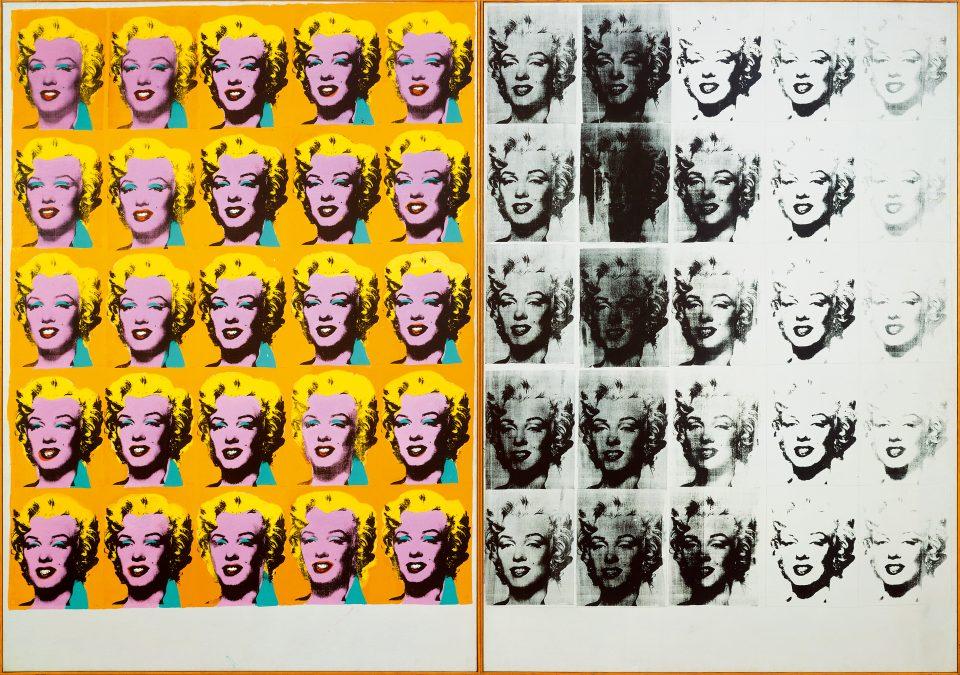 Andy Warhol, Marilyn Diptych (Tate Modern)