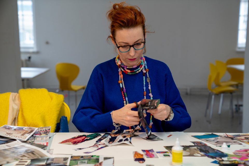 An interior design course at University of the Arts London