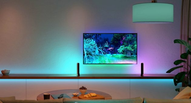 The Philips Hue Sync Box transforms any room into an immersive light show