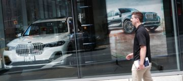 BMW's sales dropped over 20 per cent in the first quarter of the year due to the coronavirus outbreak, the German car giant said today.