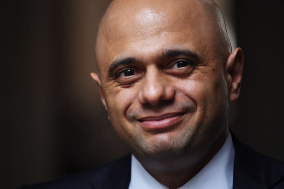 Sajid Javid: Right policies can make economy's coronavirus recovery 'V-shaped'