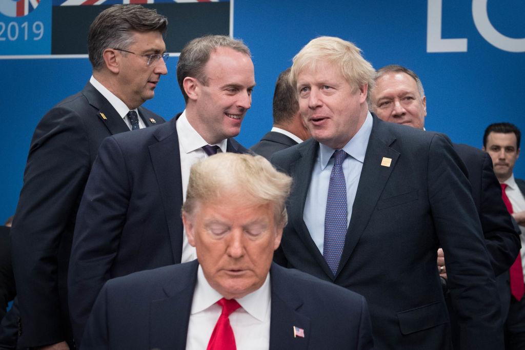 Boris Johnson and Dominic Raab urge world leaders to avoid protectionism