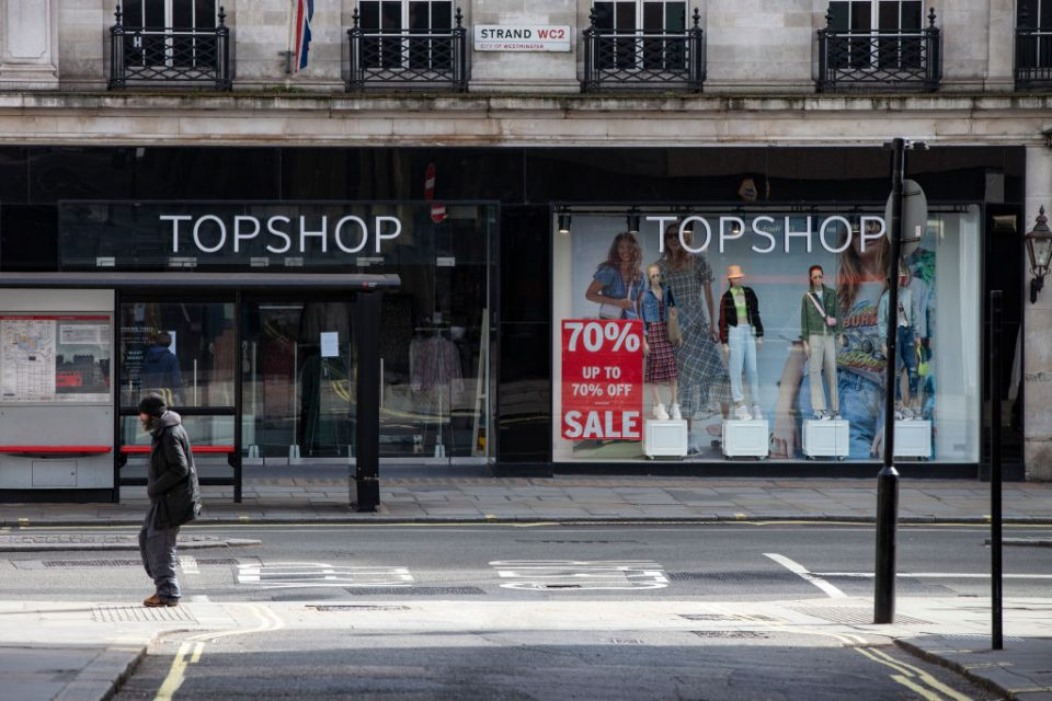 Debenhams and Arcadia on brink as coronavirus pummels retailers