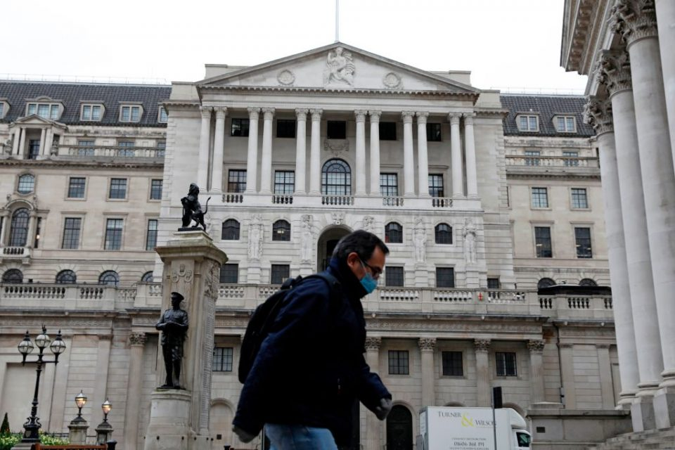 Bank of England snaps up £1.9bn of company debt via coronavirus scheme
