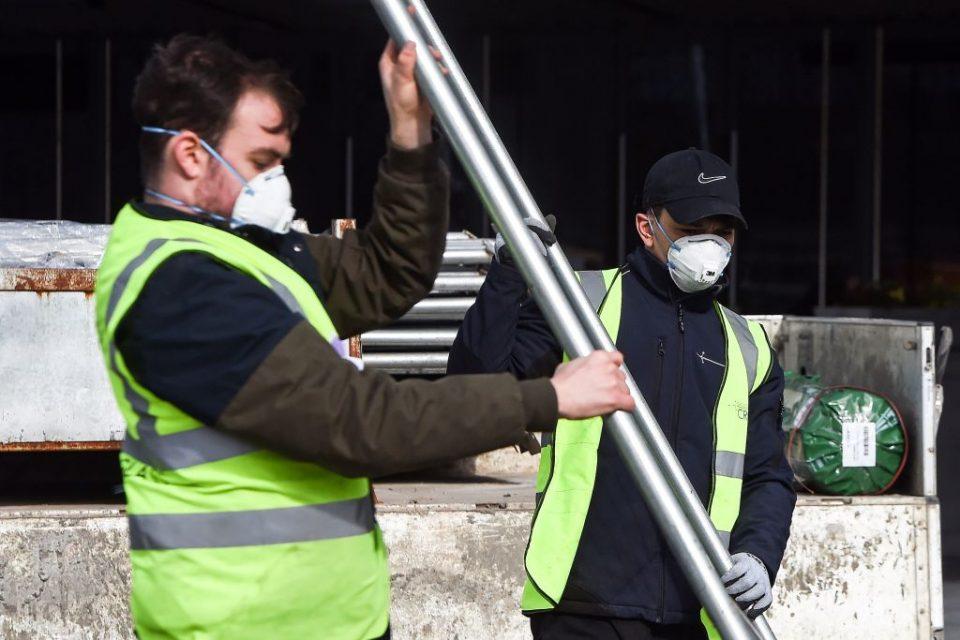 UK construction sector has worst month since 2009 amid coronavirus lockdown