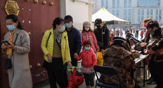 China reports no new coronavirus deaths for the first time