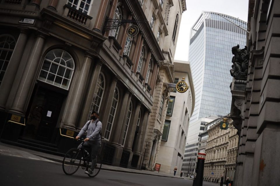 FTSE 100 jumps despite dire China data on hopes of US reopening